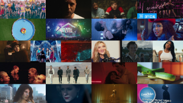 Collage of CelebMix's Top Music Videos of 2019