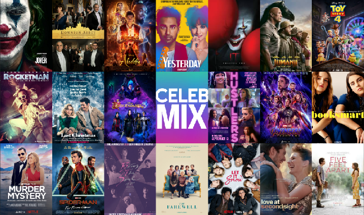Collage of CelebMix's Top Films of 2019