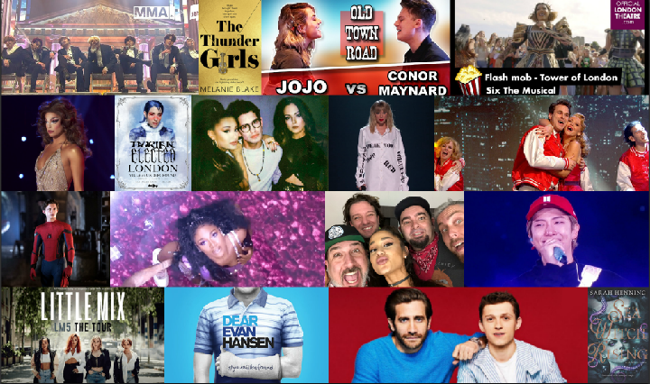 Collage of CelebMix's Top Memories of 2019