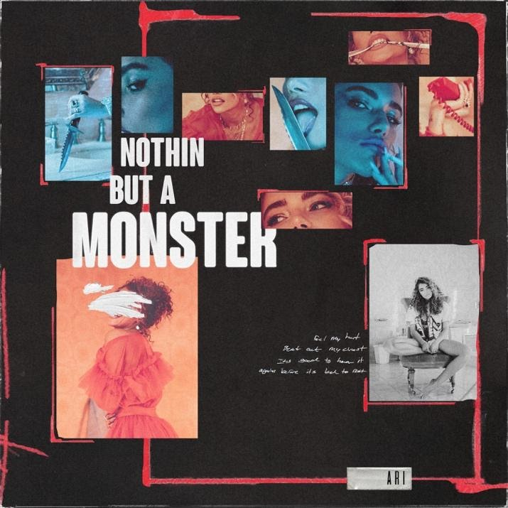 "ARI - ""Nothin But a Monster"" single artwork"