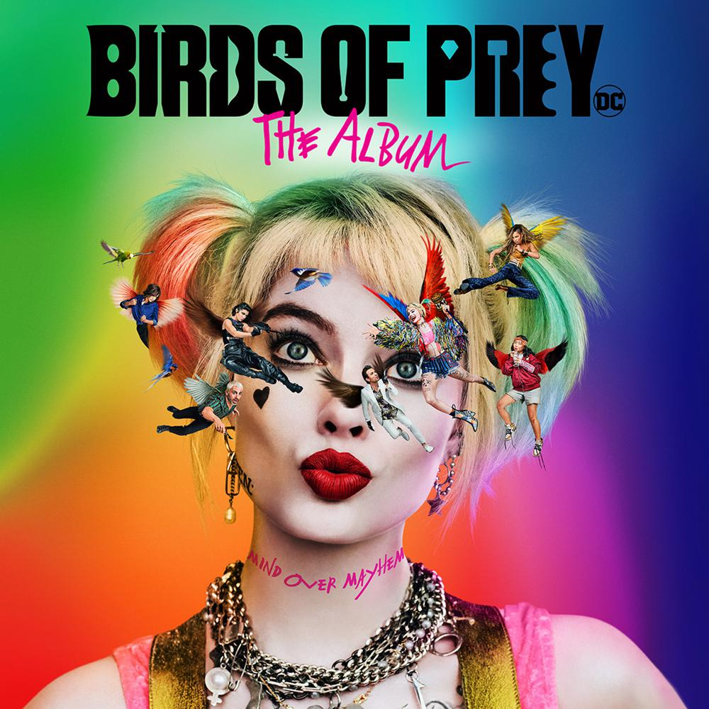 """Birds Of Prey"" soundtrack artwork"