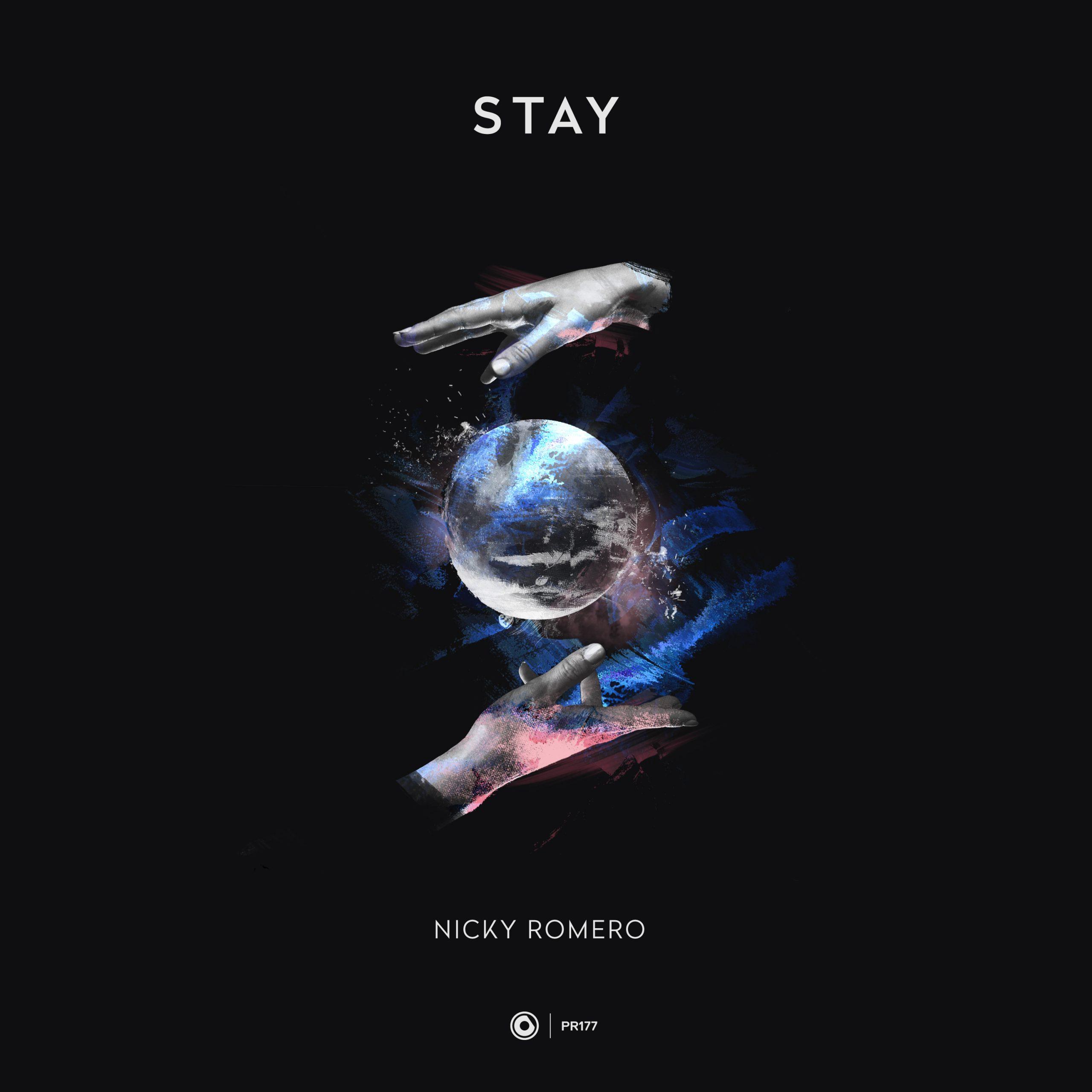 "Nicky Romero - ""Stay"" single artwork"