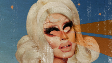 Trixie Mattel's artwork for her album Barbara
