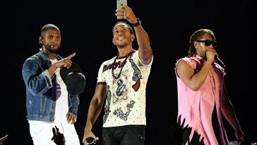 Usher, Lil Jon and Ludacris release new single