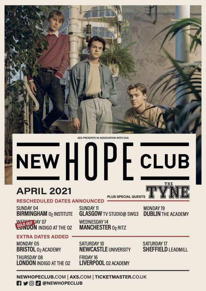 New Hope Club Tour