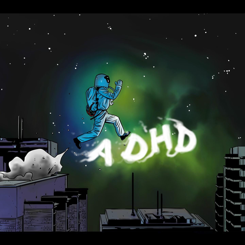 "Jaye - ""ADHD"" single artwork"