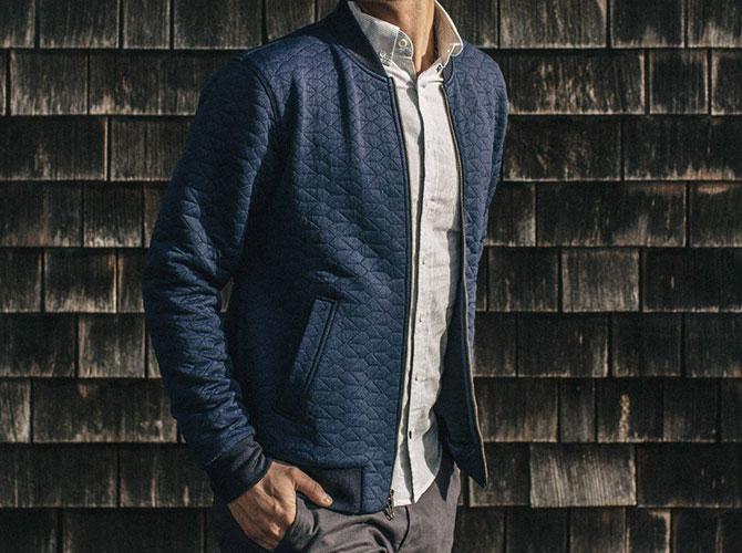 find Brand Mens Cotton Jacket