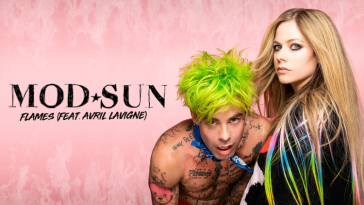 MOD SUN and Avril Lavigne collaborate on scorching hot new single 'Flames' 2
