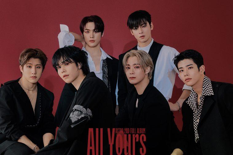 Astro 'All Yours' Album Review - CelebMix