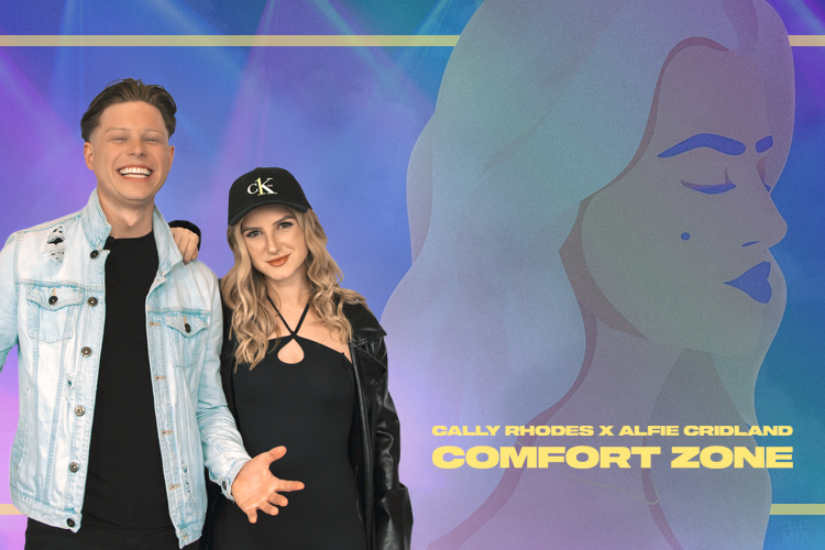Cally Rhodes and Alfie Cridland join forces on epic new single 'Comfort Zone' 1