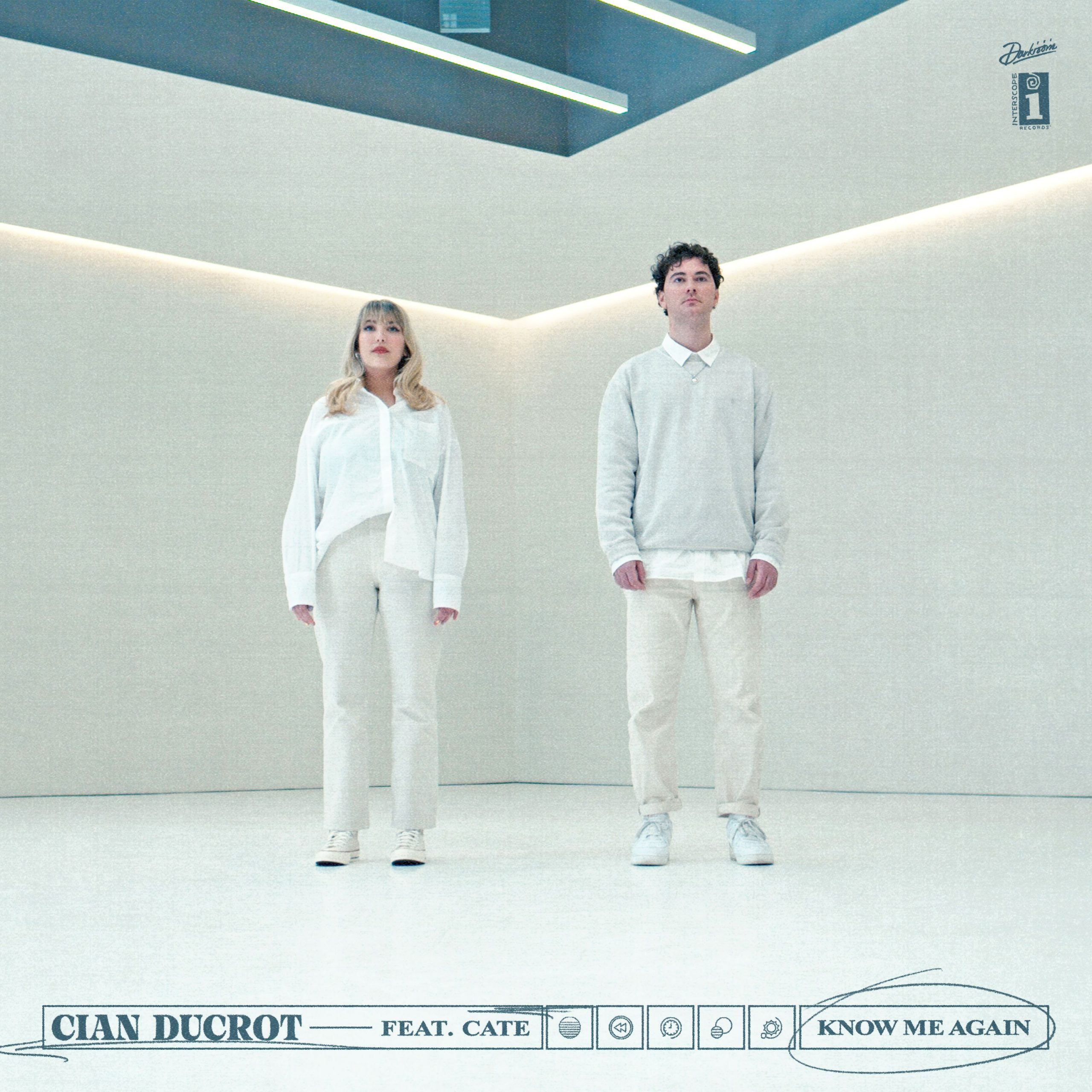 """Cian Ducrot and Cate - """"Know Me Again"""" single artwork"""