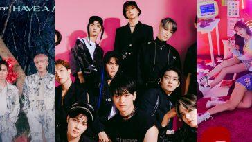 K-Pop groups AB6IX, The Boyz and Momoland