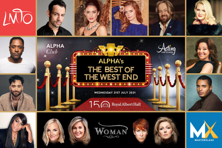 Alpha's The Best of the West End returns to the Royal Albert Hall this month in aid of Acting For Others 1