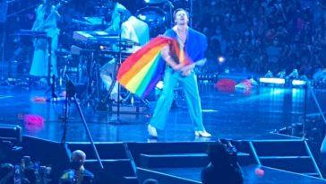 harry styles love on tour lgtbw flag